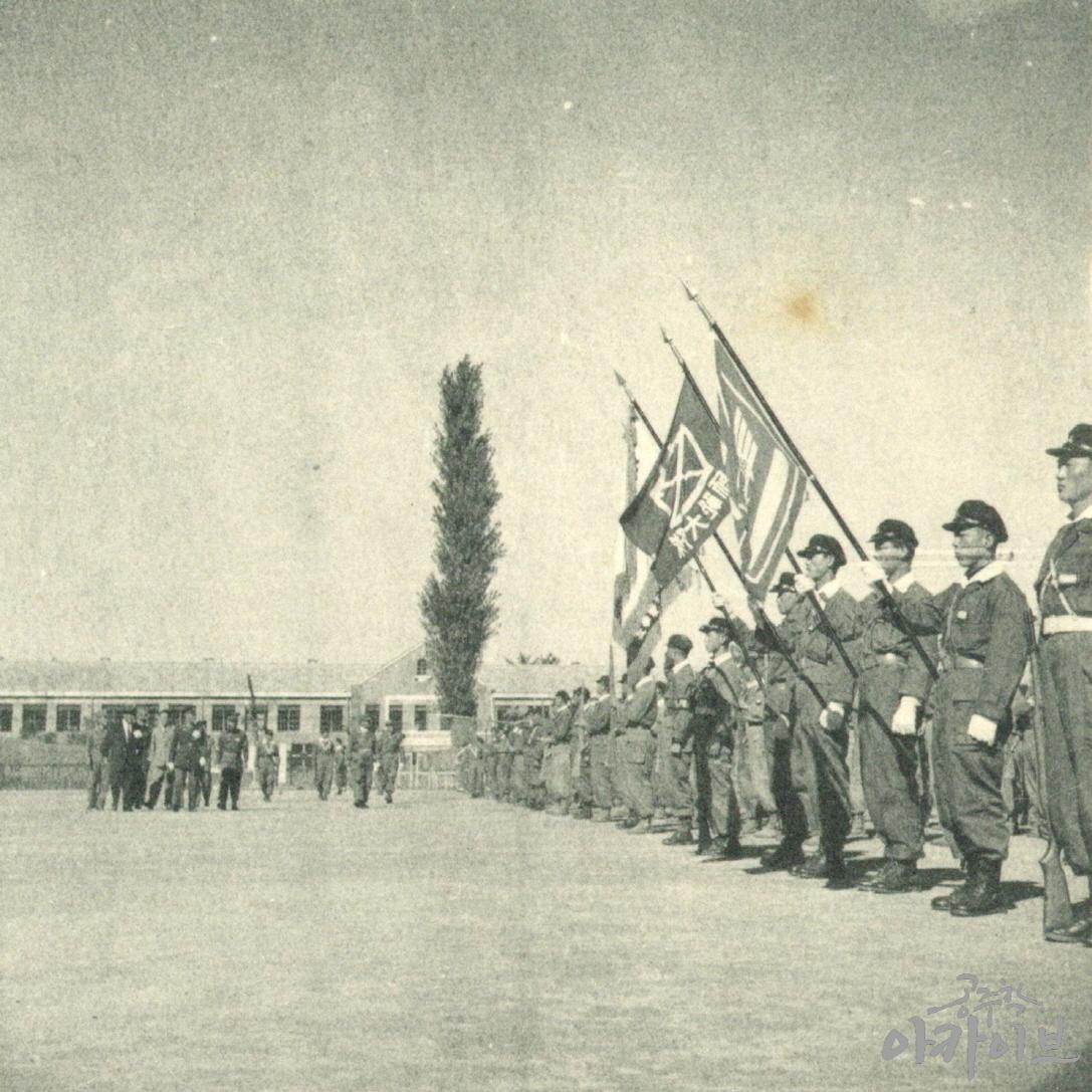 1954년 사대부고 육군 장교 방문 4