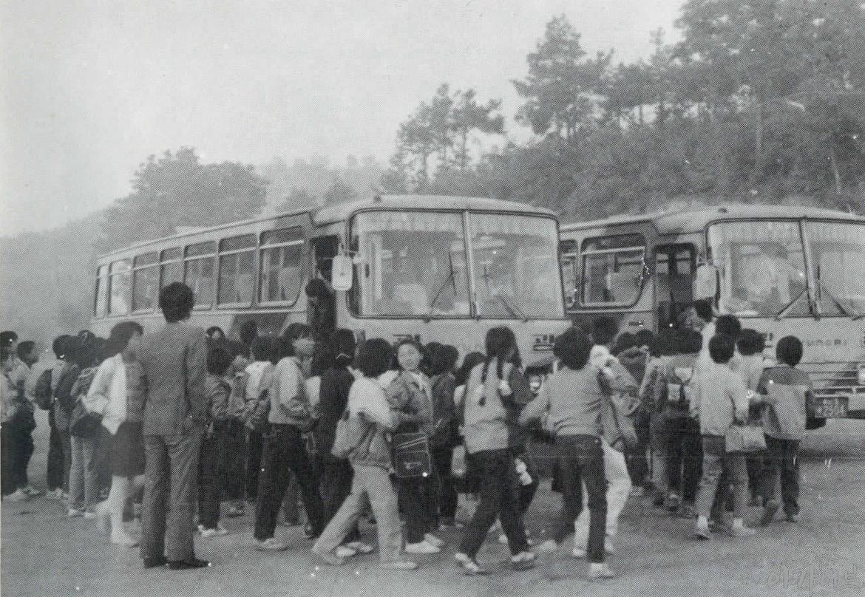 1984년 정안국민학교 수학여행
