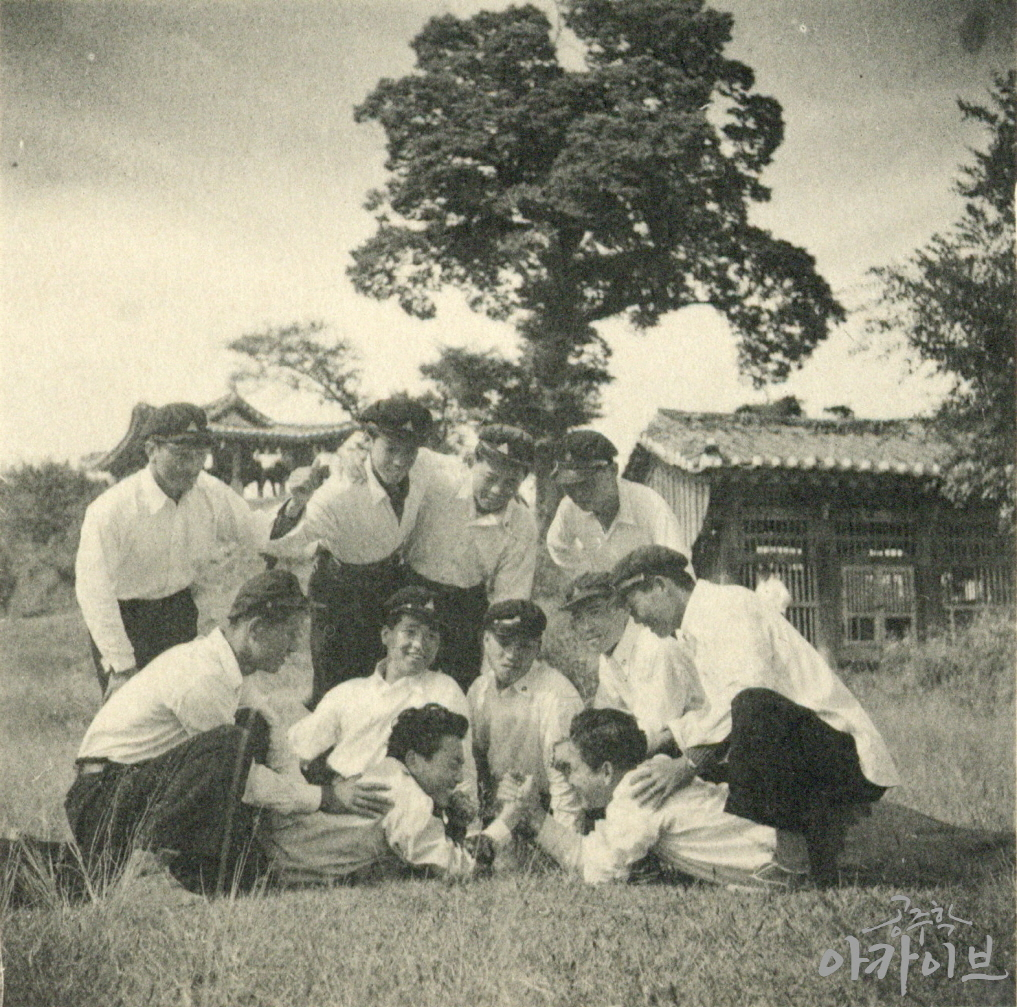 1955년 사대부고 공산성 졸업사진 1