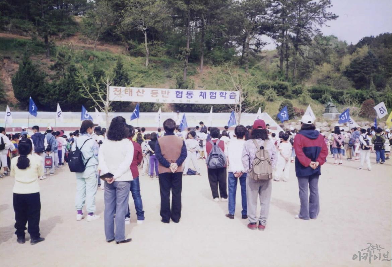 1999년 정안초등학교 협동체험학습(2)