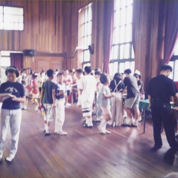 1999년 정안초등학교 알뜰시장(1)