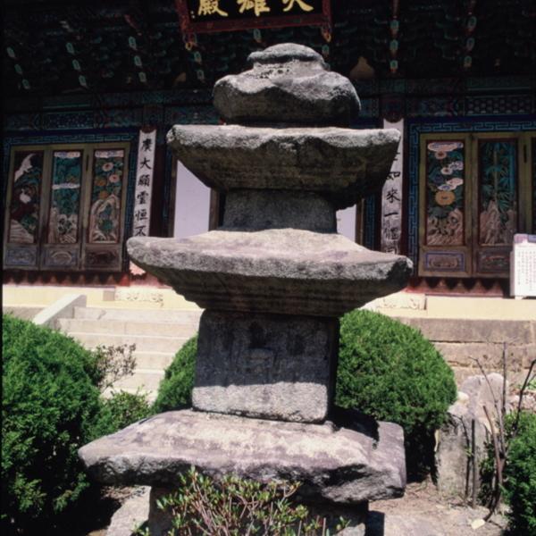 동학사 삼층석탑 (1)