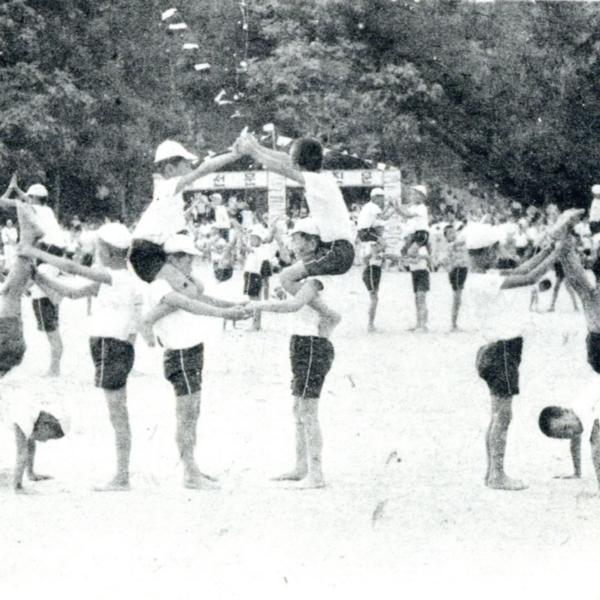 1967년 정안국민학교 교내 운동회 14
