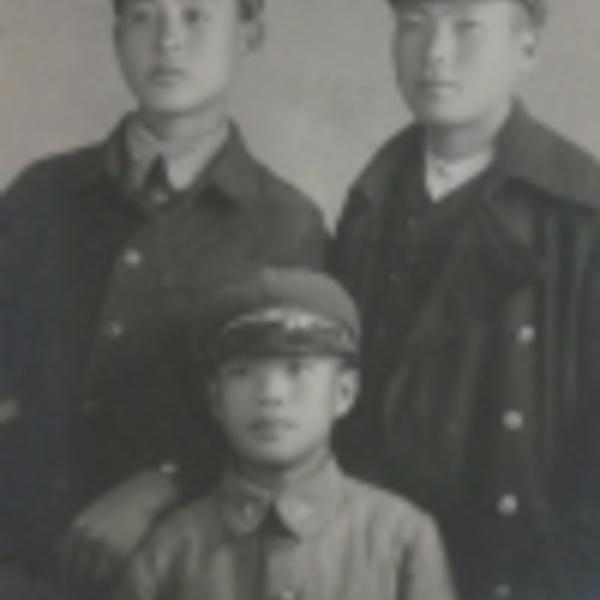 1940년 공주공립고등보통학교 학생들의 기념사진 3