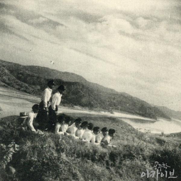 1955년 사대부고 공산성 졸업사진 4