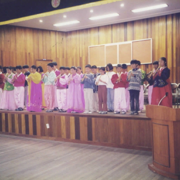 1999년 정안초등학교 4학년 학부모의 밤(1)