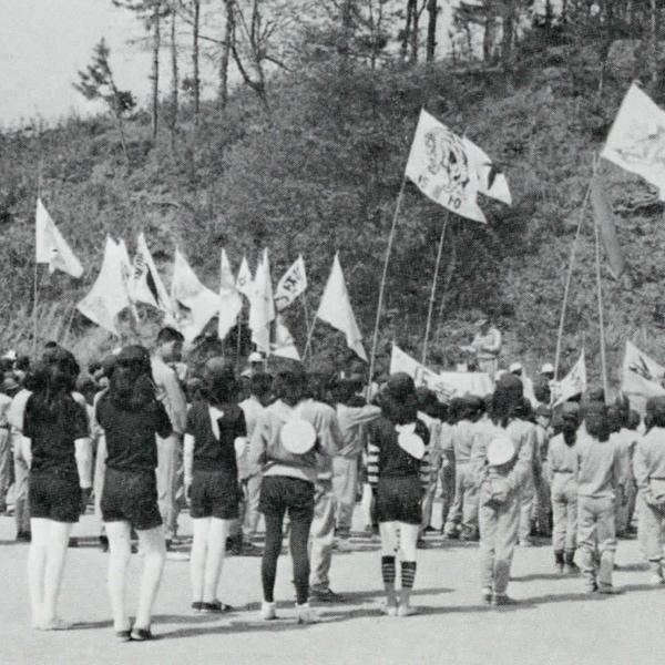 1981년 정안국민학교 운동회(2)