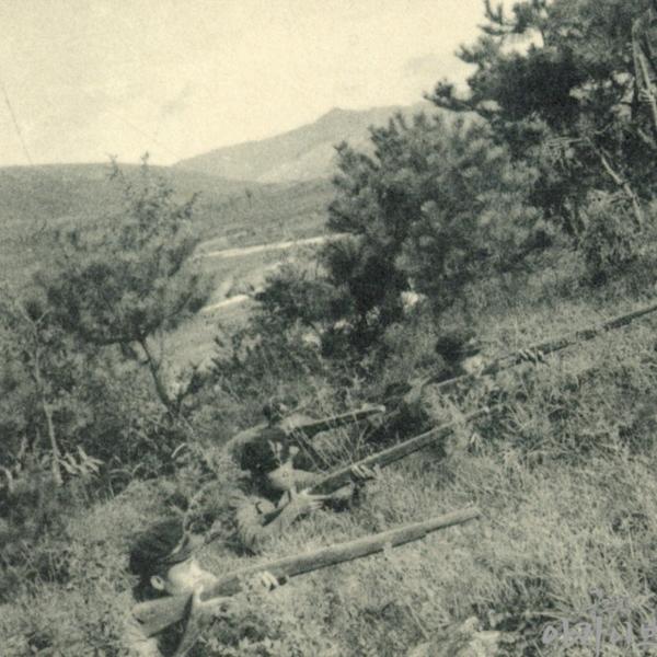 1954년 사대부고 군사훈련 1