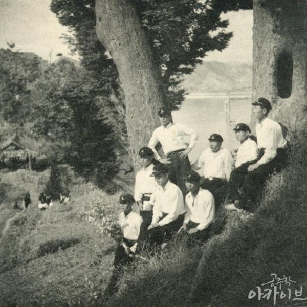 1955년 사대부고 공산성 졸업사진 6