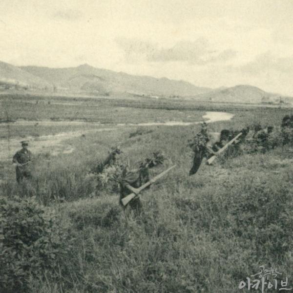 1954년 사대부고 군사훈련 3
