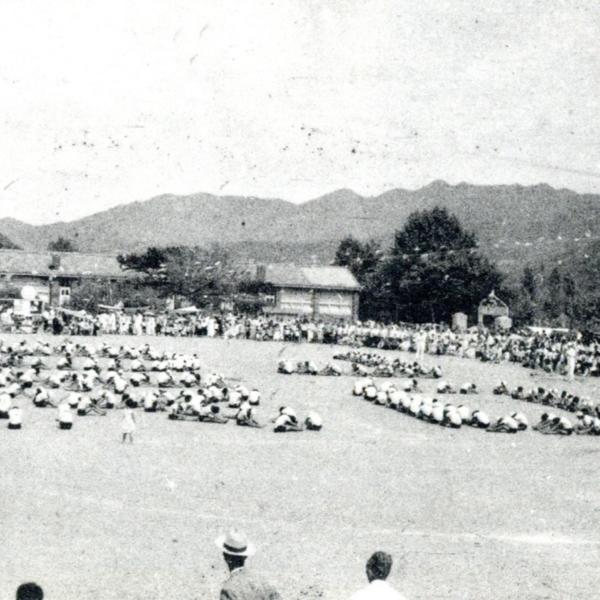 1967년 정안국민학교 교내 운동회 13