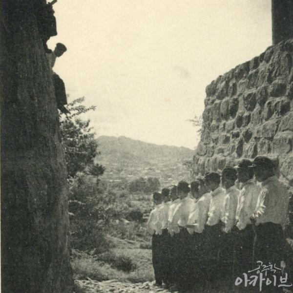 1955년 사대부고 공산성 졸업사진 3